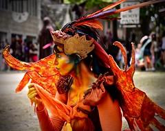 Phoenix Fairie - Explore #303- '15 - Renaissance Faire - Bristol WI (Meridith112) Tags: summer orange wisconsin bristol wings nikon mask july explore faire wi renaissancefaire fairie 2015 explored nikon2485 nikond610 phoenixfairie explore7212015 jacqulinroselong