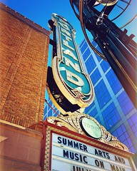 Broadway Pizzaz (TMimages PDX) Tags: city usa building geotagged marquee photography photo theater cityscape image explore entertainment photograph portlandoregon fineartphotography arleneschnitzerconcerthall flickrexplore explored iphoneography