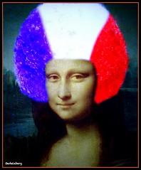 Mona-France (Kay Harpa) Tags: monalisa paris décembre2016 applicationpublique kayofkollage thebiggestgroup france fun