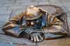 Čumil - Bratislava, Slovakia. (DXCMC2) Tags: čumil cumil bratislava slovakia old town staré mesto square squared canal sculpture kanal city indoor nikon d60 1855mm nikkor dslr