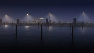 Nebel im Morgengrauen