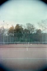 Fun in colors (•Nicolas•) Tags: tlr lomo film color kodak 400iso nicolasthomas experiment camera tennis sport vintage