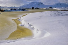 Rannoch Freeze (Deepgreen2009) Tags: snow winter highlands moor rannoch lochba drifts scotland desolate remote wilderness