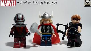 Ant-Man, Thor & Hawkeye