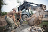 Seabees shovel gravel for a five-stall bathroom is building for the school in Cambodia. (Official U.S. Navy Imagery) Tags: seabees navalmobileconstructionbattalion nmcb5 cambodia svayriegn sromoprimaryschool kh