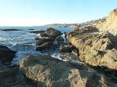 (ArgyleMJH) Tags: blueschist california catalinaschist geology goffisland miocene montagelagunabeachresort orangecounty sanonofrebreccia schist sedimentary