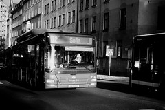 (archangelse) Tags: streetphotography street streetphoto streetpeople woman reportage light mood stockholm sweden bus