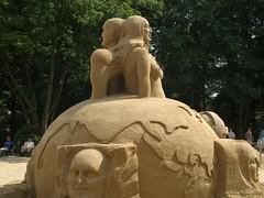 Sandsation 2006, Berlin (cd.berlin) Tags: berlin 2006 sandsation sandskulpturen sand sculpture wm2006 wm wc2006 worldcup fusball football soccer sexy boobs girl topless nude naked cdberlin