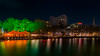 River side, Bristol (technodean2000) Tags: night city river england uk colour color saturation greet reflection buildings tree nikon d610 lightroom waterfront water architecture outdoor skyline
