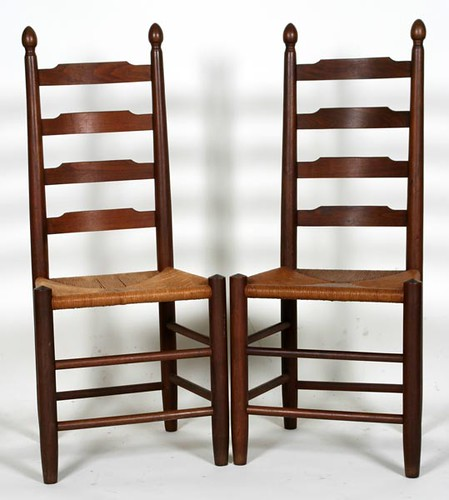 Set of 6 Ladder Back Clore Chairs ($392.00)