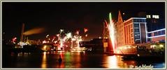 silvester 2016 (ugblasig) Tags: münster muenster silvester silverster2016 newyearseve feuerwerk fireworks hafen kanal saintsylvestre nye