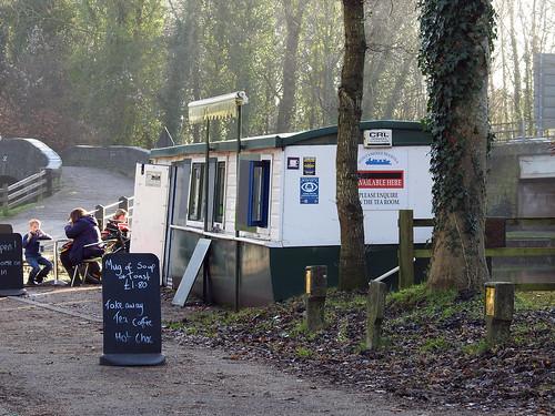 Pontymoile Basin Snack Bar, Monmouthshire-Brecon Canal, Pontypool 28 December 2016