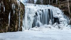 cascade du Bois de Chaud (gael63) Tags: france auvergne hiver glace gel blanc poselongue massifcentral