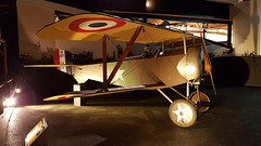 Nieuport 11 (replica) (sirgunho) Tags: lelystad aviodrome aviation museum airport dda stichting fokker preserved aircraft aeroplane luchtvaart nieuport 11 replica