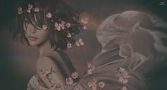 EJ~Blossom and Silks (Skip Staheli CLOSED FOR CLIENTS) Tags: skipstaheli secondlife sl avatar virtualworld dreamy digitalpainting silks flowers fantasy eleanorjeanwebster