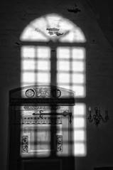Shadow On The Wall (RadarO´Reilly) Tags: süderende föhr sh germany kirche church insel island küste coast sw schwarzweis bw blackwhite monochrome schatten shadow