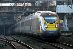 374011 Stratford International 17.01.17 (jonf45 - 2.5 million views-Thank you) Tags: railways br british rail train london emu electric multiple unit eurostar class stratford international 374 4011 374011