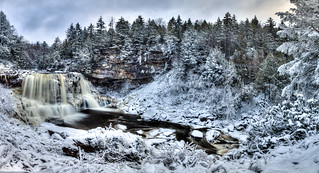 Winter at Blackwaterfalls.......
