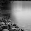 At Frozen Pond 014 (noahbw) Tags: d5000 nikon prairiewolfsloughforestpreserve abstract blackwhite blackandwhite bw cold forest freezing frozen ice landscape monochrome natural noahbw pond quiet reflection rocks shore shoreline square still stillness stones water winter woods