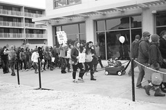 Crowd (thereisnocat) Tags: canonet canonetql17 jch400streetpan protest womensmarch womensmarchap asburypark monmouthcounty newjersey nj