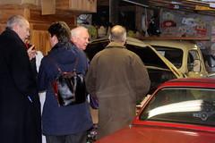 The owner was talking enthousiastically... (Davydutchy) Tags: car collection private privé sammlung collectie automobile auto automobiel bil voiture pkw klassiker classic welsum trn nieuwjaarsborrel january 2017
