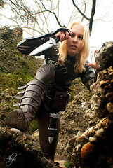 Thieves Guild - Skyrim (DrosselTira) Tags: vex thief thieves tes tesv elder scrolls v skyrim 5 tes5 cosplay cosplayer guild thievesguild master guildmaster armor armour leather bethesda game videogame set
