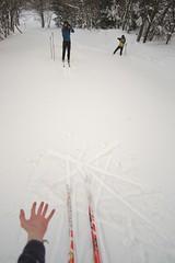 Gap (all martn) Tags: schnee snow winter langlauf langlaufen cross country skiing ski hohe tour erzgebirge osterzgebirge krusne hory ore mountains