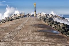 Sortie à la Barre d'Anglet le 10-12-2016 (Filigrane)-2 (yoyolg33) Tags: vert paysbasque côtebasque merocéanplageangletplagedelebarre