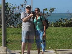 Puerto Plata-17.11 (davidmagier) Tags: aruna david backpacks hats ocean puertoplata dominicanrepublic dom