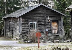 Wooden house at Skansen in Stockholm, Sweden 31/1 2016. (photoola) Tags: stockholm djurgården skansen trähus sweden photoola woodenhouse