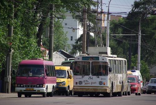 Irkutsk trolleybus VMZ-170 264 ©  trolleway