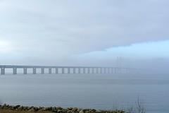 Øresundsbron im Nebel (TrickyMartin2006) Tags: schweden unterwegs oeresund brücke