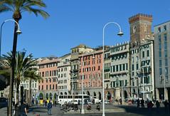 Genova, piazza Caricamento (Valerio_D) Tags: genova liguria italia italy 20162017inverno 1001nights 1001nightsmagiccity