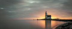 Sunrise near the lighthouse (zoomleeuwtje) Tags: holland netherlands paard van marken le nd10 big stopper