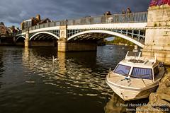 Alongside The Thames In Windsor, England