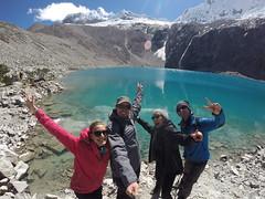 Photo de 14h - Lagune 69 à 4700m (Pérou) - 25.06.2014