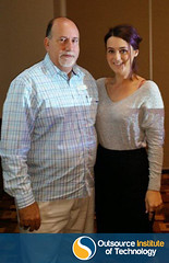 Lesley and Ross Contarino at the Townsville Industry Breakfast 2015