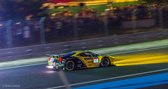 #66 Ferrari 458 Italia Spitting Flames (d-harding) Tags: cars night lights nikon italia flames ferrari racing panning lemans exhaust 458 d5100 lmgte nikond5100 sigma105mmf28macroexdgoshsm