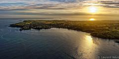 _LN17255 : Couché de soleil sur Plougonvelin (Brestitude) Tags: sunset france soleil bretagne aerial breizh couché finistère aérien plougonvelin brestitude ©laurentnevo2015