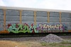 Scum/Combo (quiet-silence) Tags: railroad art train graffiti railcar scum graff rts freight combo combos autorack bhg fr8