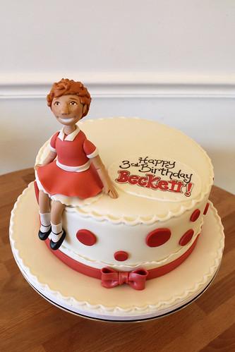 Annie Musical Cake