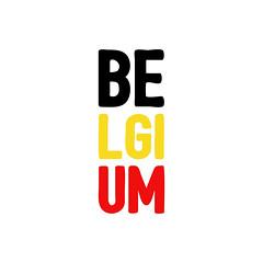 BELGIUM (Franz-Renan Joly) Tags: square typography design graphic album cover typo
