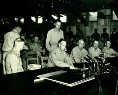 Korean War Armistice Signing, 27 July 1953 (Marine Corps Archives & Special Collections) Tags: marine war korean corps marines armistice