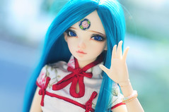 Ms Lotus <3 (Athena Roseanna Tse) Tags: doll lotus bjd fairyland luka balljointeddoll mnf minifee faceups culur