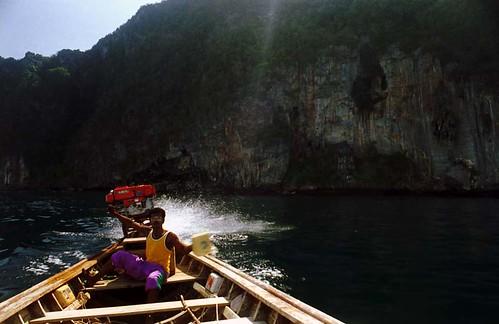 Viking Cave - Koh Phi Phi Lee - 1994(6)