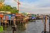Stilt houses - Bangkok (cattan2011) Tags: river thailand travelblogger travel traveltuesday landscapephotography landscape waterscape bangkok chaophrayariver stilthouse