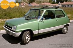 Renault 5 GTL découvrable (cbilleque) Tags: renault5 r5 verte green découvrable gtl renault5gtl