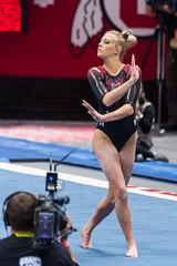 Utah-Red Rocks Preview (177) (fascination30) Tags: utah utes gymnastics redrocks university