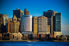 Lower Manhattan Skyline viewed from Jersey City NJ (mbell1975) Tags: jerseycity newjersey unitedstates us lower manhattan skyline viewed from jersey city nj new york newyork ny nyc usa america american hudson river water skyscraper skyscrapers buildings office