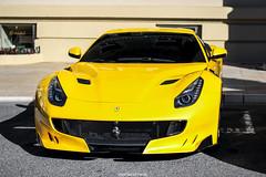Very Yellow TDF (MonacoFreak) Tags: ferrari f12 berlinetta tdf sun monaco montecarlo cotedazur frenchriviera luxury car cars
